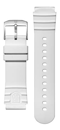 Luminox 0320, 22mm, Silicone, Wh, Stee, FP.2201.10Q