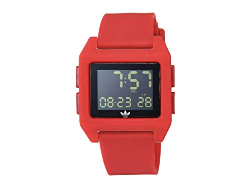 adidas Originals Watches Archive_SP1. Digital Watch with 20mm Silicone Strap (36mm) -Scarlet