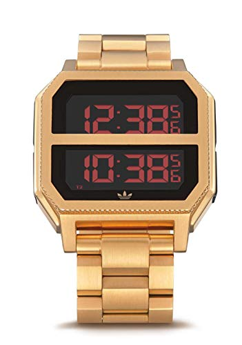 Adidas Watches Archive_MR2. Black Stainless Steel, 22mm Band Width (41mm Case) - All Gold