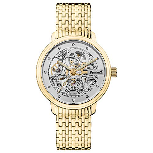 Ingersoll The Crown Ladies Automatic Watch I06103 with a Stainless Steel case and Stainless Steel Bracelet
