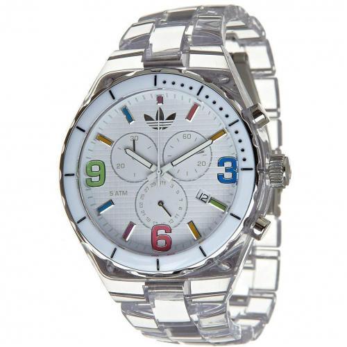 Adidas Originals Cambridge Midsize Uhr transparent