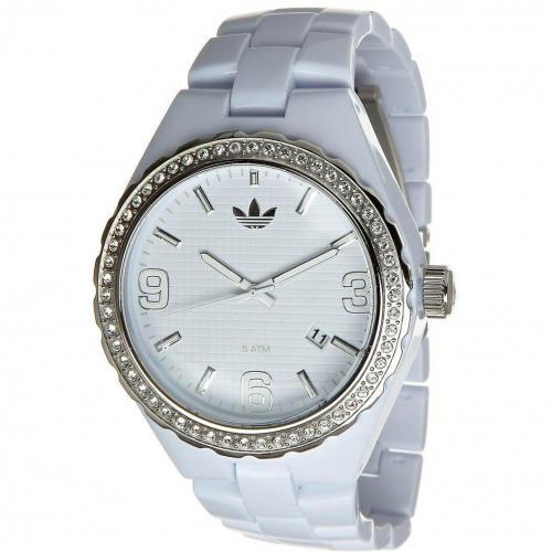 Adidas Originals Cambridge Midsize Uhr weiß