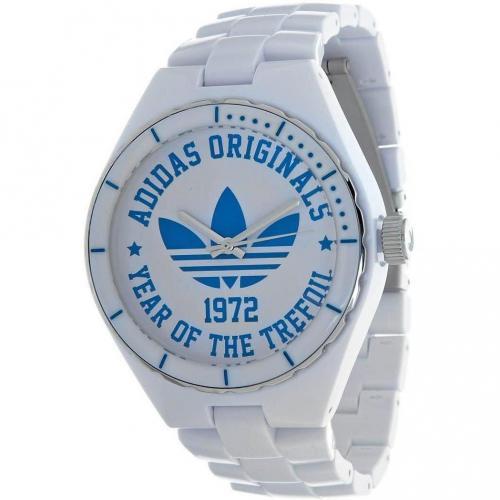 Adidas Originals Cambridge Uhr weiß mit Quarzwerk
