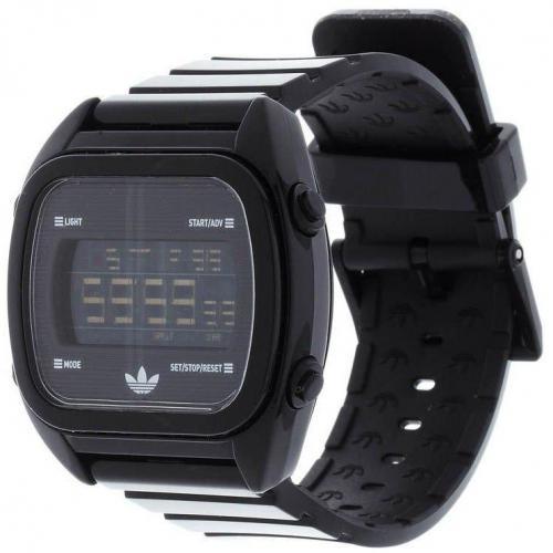Adidas Originals Digitaluhr schwarz