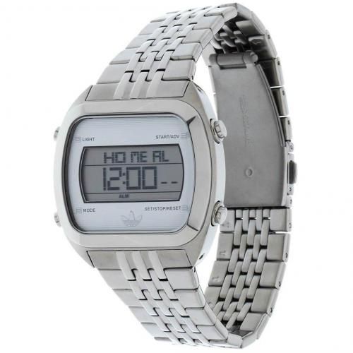 Adidas Originals Digitaluhr silber