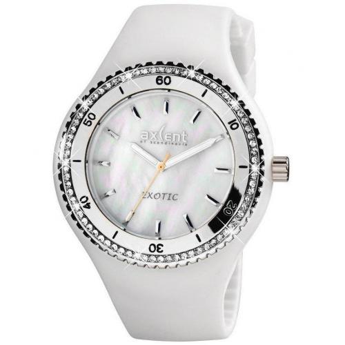 Axcent Exotic Uhr weiß