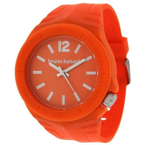 Bruno Banani Prisma Uhr orange