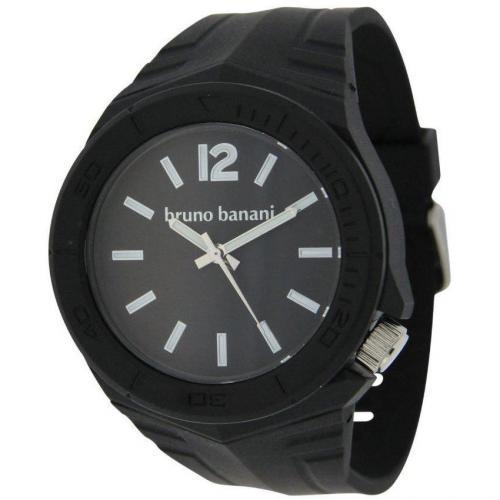 Bruno Banani Prisma Uhr schwarz