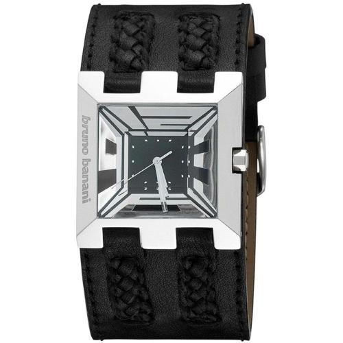 Bruno Banani X T Square Uhr schwarz/silber