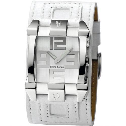 Bruno Banani Xilion Uhr weiß/silber