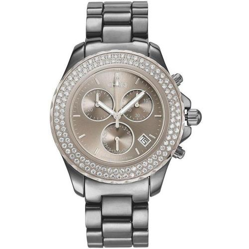 Christ Damenchronograph mit Titankeramikband