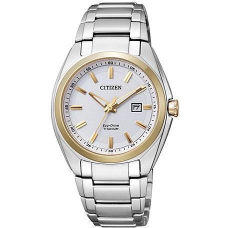 Citizen Damenuhr Titanium EW2214-52A