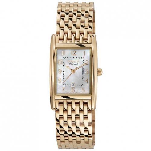 Dugena Premium Quadra Arabica Uhr gold