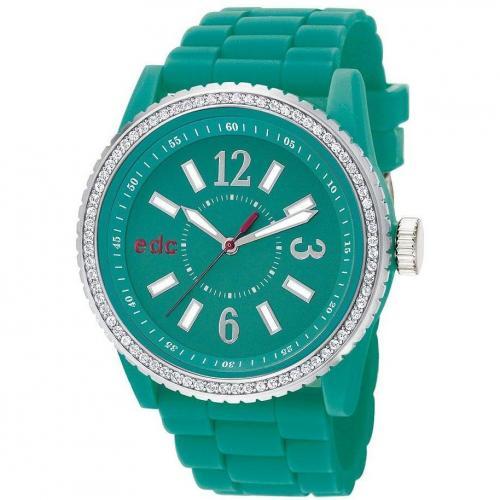 edc Damenuhr Disco Glam - Cool Turquoise EE101032004