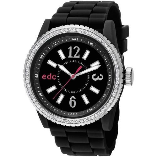 edc Damenuhr Disco Glam Envy-Midnight Black EE101032002