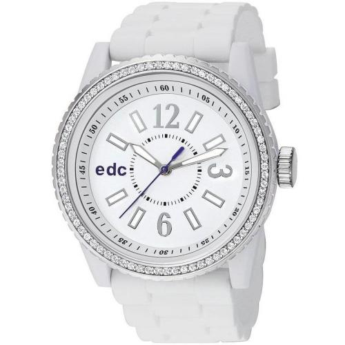 edc Damenuhr Disco Glam Envy - Pure White EE101032001