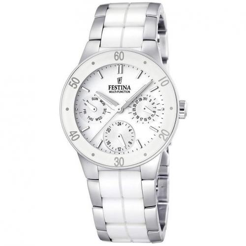 Festina Damenuhr Ceramic S Multifunktion F16530/1