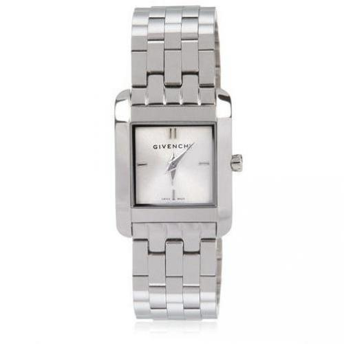 Givenchy Polished Stainless Steel Watch