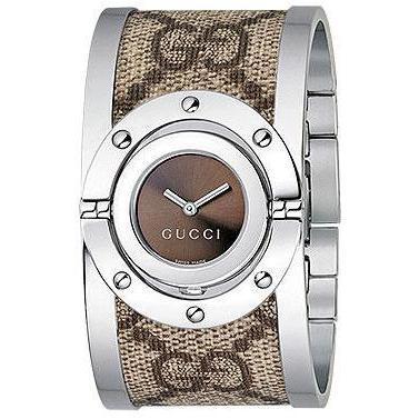 Gucci Damenuhr Twirl GG Plus YA112425
