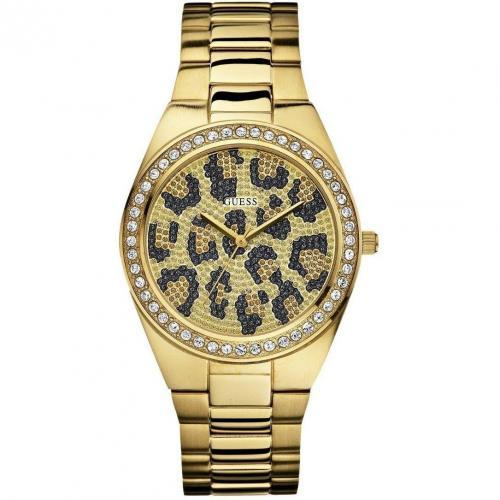 Guess Catwalk Uhr gold