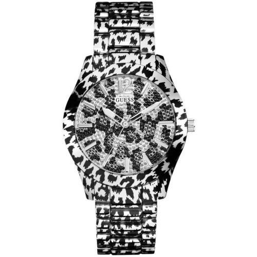 Guess Fierce Uhr schwarz/weiss