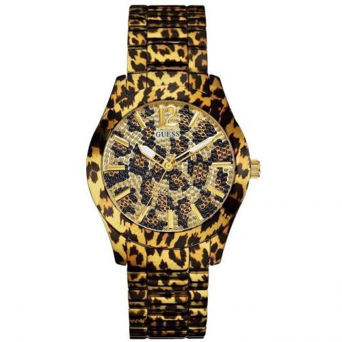 Guess Uhr schwarz/braun