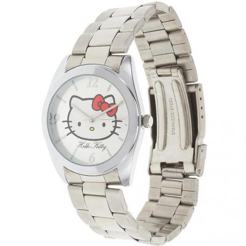 Hello Kitty Uhr silber