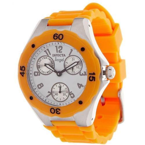 Invicta Chronograph orange