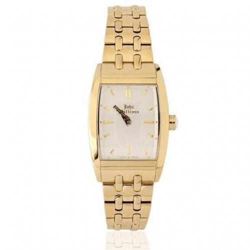 John Galliano Ronda Quartz Gold Watch