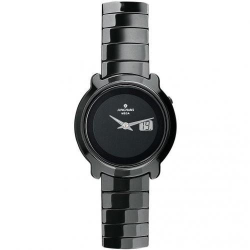 Junghans Stratos Uhr schwarz