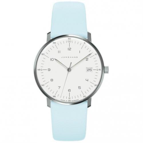 Junghans Uhr blau/weiß