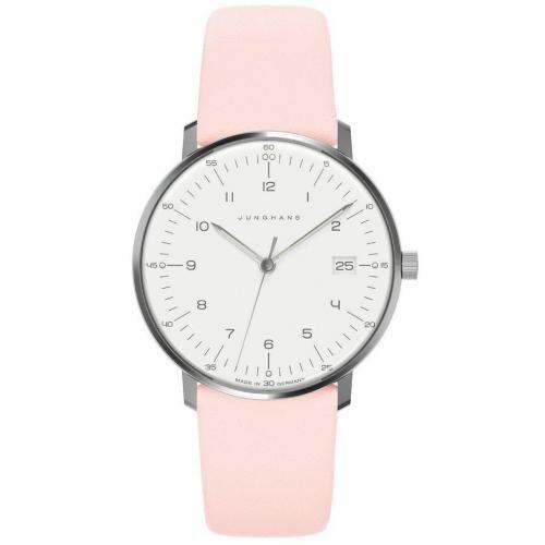 Junghans Uhr rosé/weiß/silber