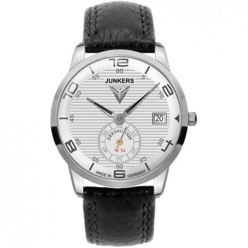 Junkers Flatline Uhr silber