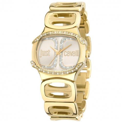 Just Cavalli Born Uhr gold