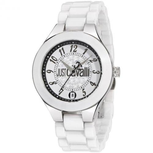 Just Cavalli Ceramic Uhr weiss