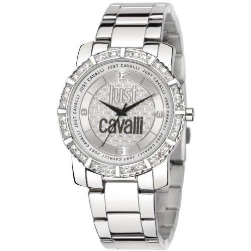 Just Cavalli Feel Uhr silber
