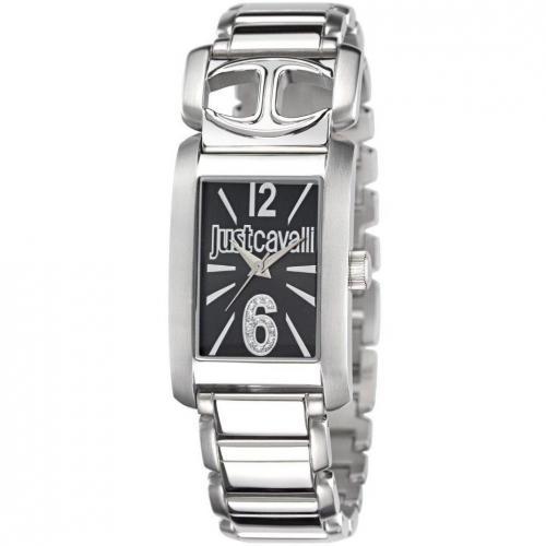 Just Cavalli Pretty Uhr schwarz