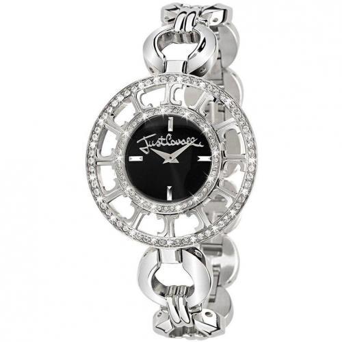 Just Cavalli Uhr schwarz/silber