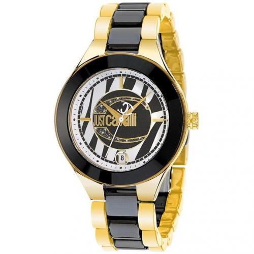 Just Cavalli Uhr schwarzgold