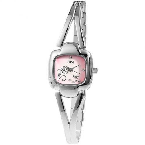 Just Uhr pink/silber