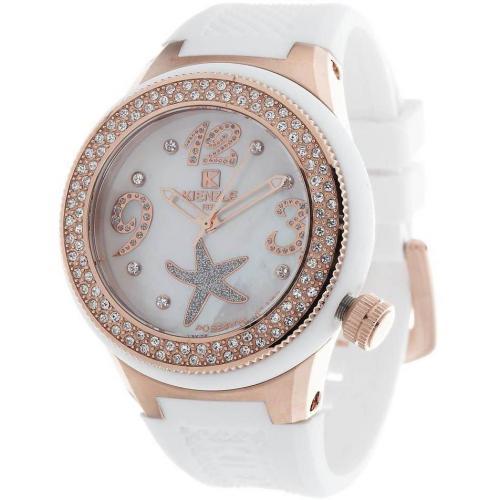 Kienzle Poseidon Uhr weiß mit Miyota-Uhrwerk