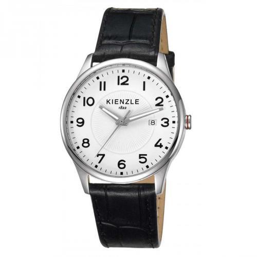 Kienzle Uhr schwarz mit Ronda 505 Quarzwerk