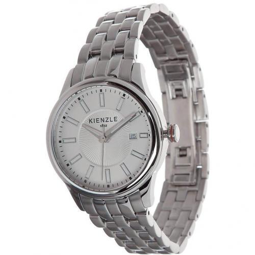Kienzle Uhr silber mit Datumsanzeige