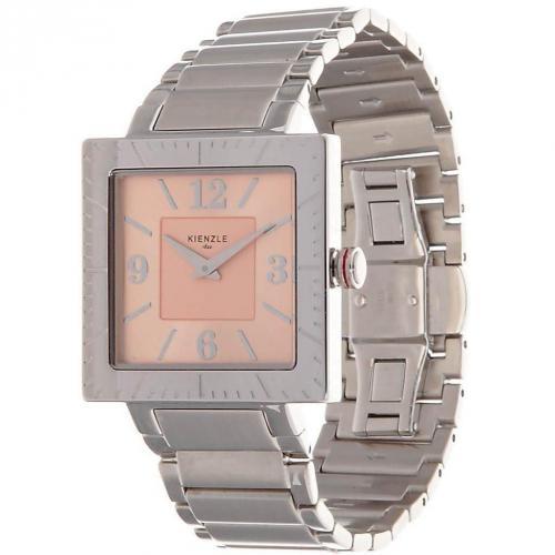 Kienzle Uhr silber mit Ronda 762 Quartzwerk