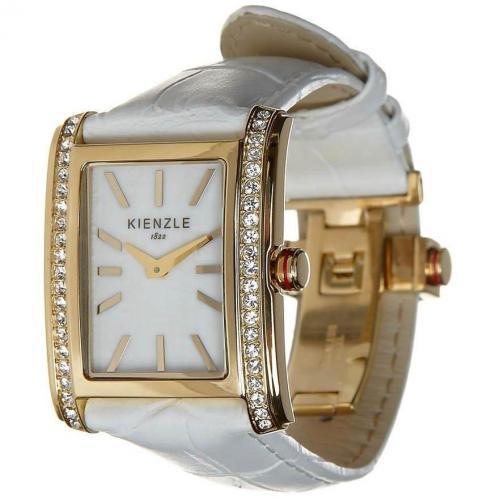 Kienzle Uhr weiß mit Ronda 762 Quartzwerk