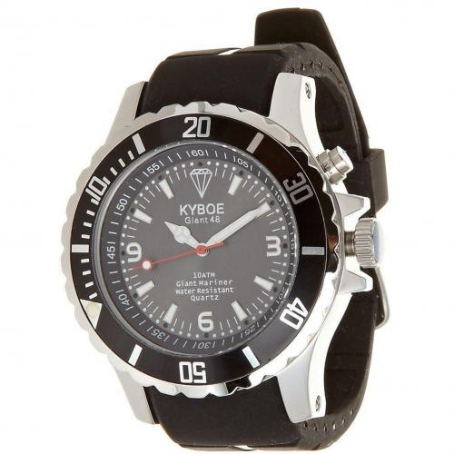 Kyboe Black Series Uhr black