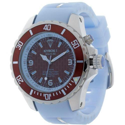 Kyboe Uhr brown/ight blue