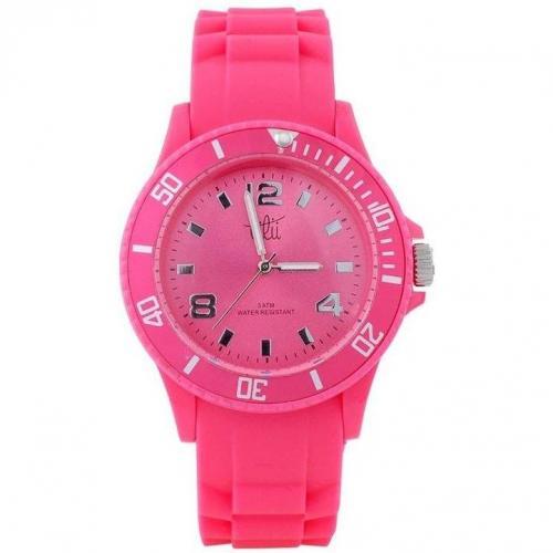 Lilii Showtime Uhr pink mit drehbarer Lünette