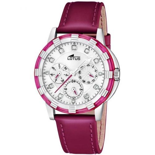 Lotus Glee Uhr pink