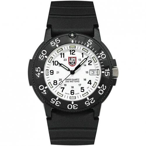 Luminox Uhr schwarz/weiss
